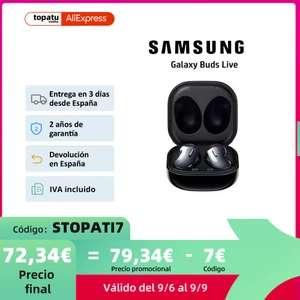 Samsung Galaxy Buds Live, Auriculares (6 de Septiembre)