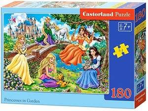 Puzzle 180 piezas de princesas