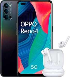 "Oppo Reno 4 5G – Smartphone de 6.4"" + Auriculares OPPO W5 de 128GB"