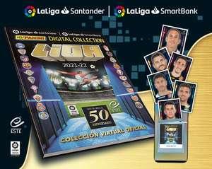 Colección impresa MyPanini LaLiga gratis para los 500 primeros en completar el 80% de la colección digital