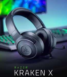 Cascos Gaming Razer Kraken X Lite - Sonido envolvente 7.1 - solo 250 gramos - Micro incorporado