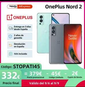 Oneplus NORD 2 ( A partir del 6 del 9)