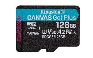 MicroSD 128GB para memoria interna de móviles.