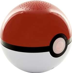 Altavoz Bluetooth diseño Pokeball, Color Rojo y Blanco