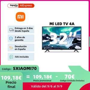 """TV Xiaomi Mi LED TV 4A (32"""") desde España"""
