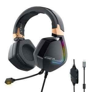 Auriculares para juegos BlitzWolf® BW-GH2 7.1 53 mm USB RGB - Desde España
