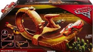 Cars 3 Pista Monte Willy 3 en 1 + Accesorios + Coche Rayo McQueen