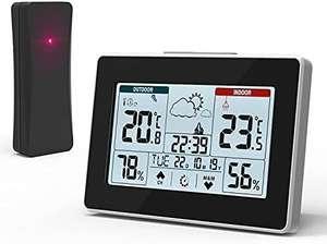 Estación meteorológica , pantalla táctil con sensor exterior