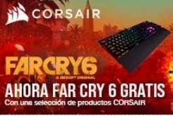 (-100€) FarCry 6 Gratis + oferta del Corsair K95 RGB Platinum RGB Cherry MX Speed