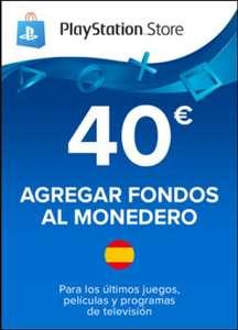 Tarjeta PlayStation Network 40€ (España)