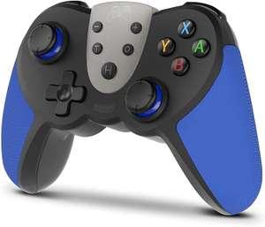 Mando Compatible con Switch/Switch Lite/PC, Mando Inalambrico para Juegos con 6 Ejes/Turbo/Control de movimiento/NFC