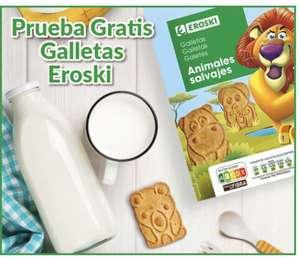 Reembolso - prueba gratis las galletas animales salvajes Eroski