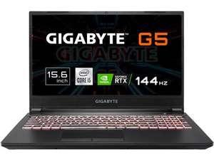 """Portátil Gaming GigaByte Aorus G5 - RTX 3060 - 144Hz - 16GB - 512GB - i5 - IPS - 15'6"""""""