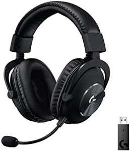 Auriculares Gaming INALAMBRICOS Logitech G Pro X con Lightspeed Negros