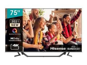 """TV 75"""" Hisense 75A7GQ - UHD 4K, Quantum Dot, HDR10+, Ultra Dimming, Dolby Vision/Atmos, Smart TV"""