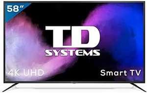 TD Systems Smart TV 58 Pulgadas 4K UHD