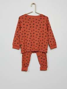 2 Pijamas desde la talla 12 meses hasta 12 años