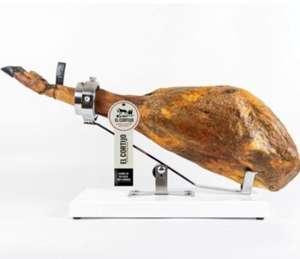 Jamón de bellota 100% raza ibérica brida negra 7kg a 7,4kg