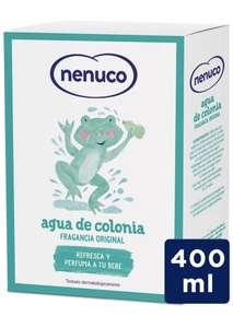 Nenuco Agua de Colonia, Formato de Cristal 400ml, recomendado para Bebés Recién Nacido (A partir de 3 meses) Fragancia Original