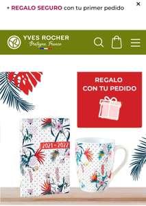 Envios gratis por compra +10€ Yves Rocher + REGALO AGENDA Y TAZA (O LO QUE ELIJAS)