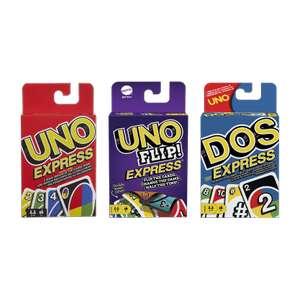 Juego de cartas UNO, DOS, O UNO FLIP!