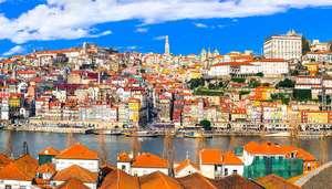 Vuelos ida y vuelta a Oporto desde 43€ para Octubre