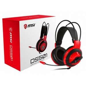 MSI DS501 Auriculares Gaming Negro Rojo
