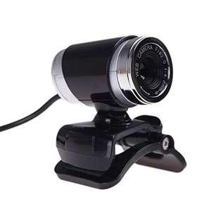 Afittel0 Cámara Webcam con Micrófono, HD USB 2.0 HD