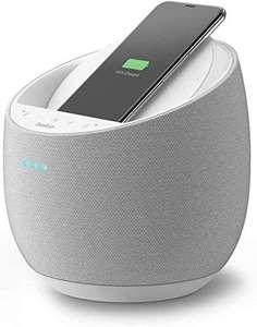 Belkin Altavoz Inteligente Hi-Fi+Cargador Inalámbrico SOUNDFORM ELITE Google Assistant - Amazon Alexa integrada