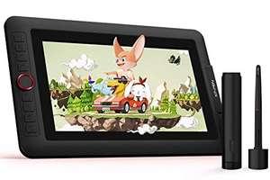 XP-Pen Artist 12 Pro Tableta Gráfica de Dibujo Digital con Teclas de Atajo y un Dial Rojo