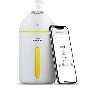 Humidificador Inteligente, 320ML, con LED, con Control Remoto App, compatible con Alexa y Google Assistant