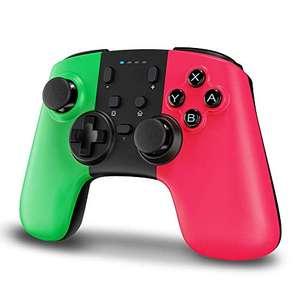 Mando para Nintendo Switch,STOGA Wireless Switch Pro Controller con batería recargable, Mando para Switch con Shock y Turbo .