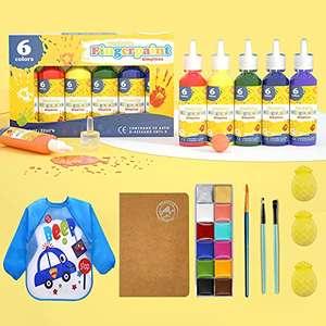 Pack Pintura para Dedos Niñ@s