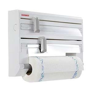 Portarrollos film, aluminio y papel de cocina.