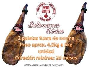2 paletas Gran Reserva Salamanca 4,5-5kg