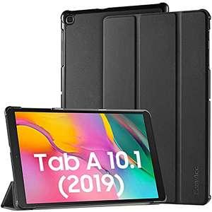 Funda Compatible con Samsung Galaxy Tab A 10.1 2019, Ultra Slim PU Protectora con Función de Soporte