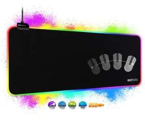 Alfombrilla RGB XXL - con 14 Modos de Luz