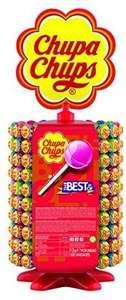 Chupa Chups Original, Caramelo con Palo de Sabores Variados, Rueda de 200 unidades de 12 gr (compra recurrente)