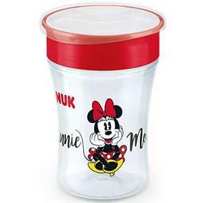 NUK Disney Magic Cup vaso bebé borde antiderrame 360 °, 8+ meses, sin BPA, 230 ml, Minnie Mouse