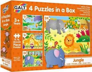 4 Puzzles En Una Caja