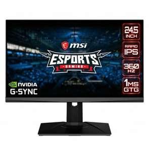 "Monitor MSI Oculus NXG253R 24.5"" LED IPS FullHD 360Hz G-Sync"