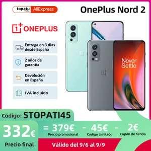OnePlus Nord2 version EU por menos de 350€