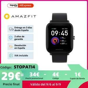 Amazfit Bip U (Desde España)