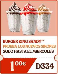 King Sandy ( incluidos nuevos siropes)