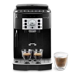 De'longhi Magnifica S - Cafetera Superautomática con 15 Bares de Presión, Cafetera para Espresso y Cappuccino, 13 Programas Ajustables