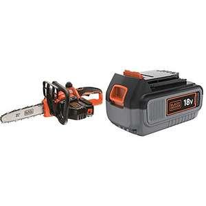 Motosierra a batería 18V Black & Decker + Batería extra
