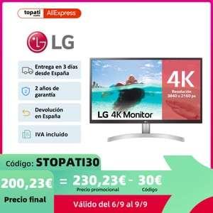 Monitor 4K LG 27UL500-W IPS 60Hz 5ms