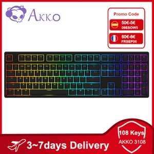AKKO 3108 Teclado mecánico RGB (Desde España)