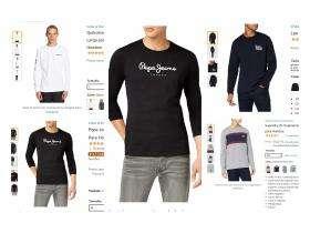Recopilación de ropa para prepararse para el otoño. Camiseta de manga larga. De 12,50€ a 17.99€