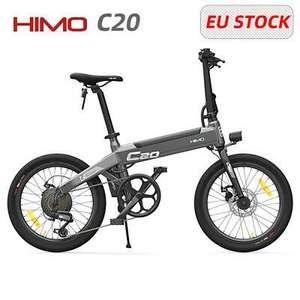 HIMO C20 20'' 80KM Alcance Power Assist Bicicleta EléCtrica